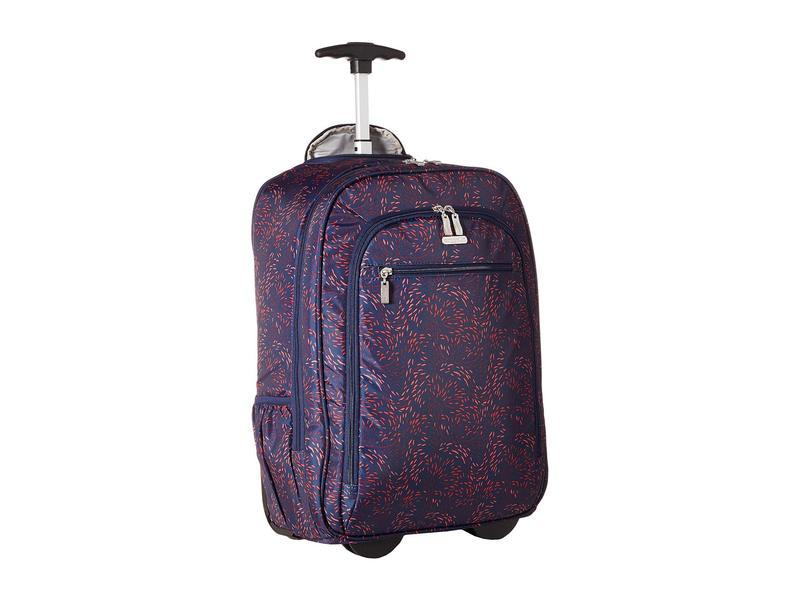 バッガリーニ レディース バックパック・リュックサック バッグ Legacy Travel Wheeled Laptop Backpack Firework Print