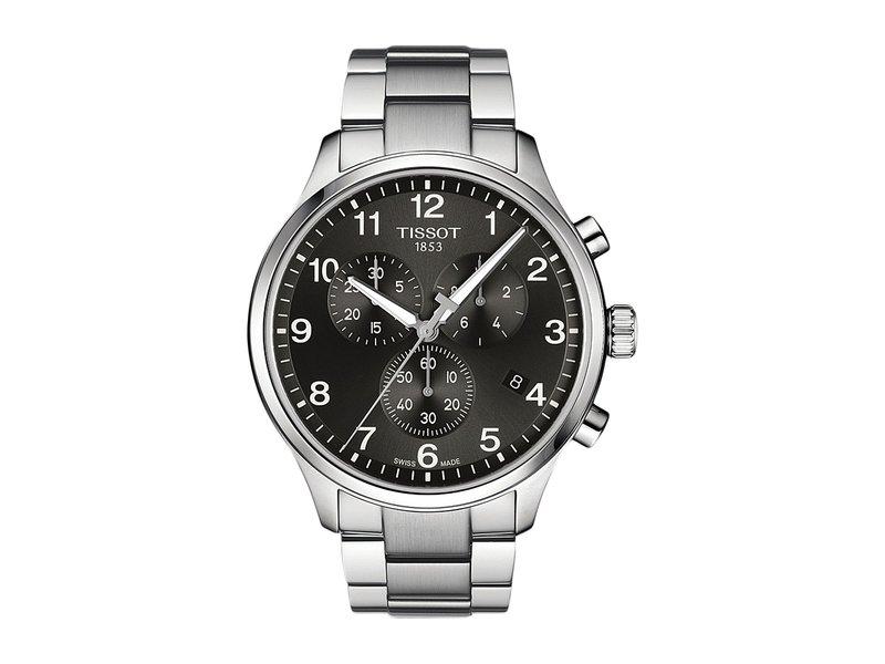 ティソット メンズ 腕時計 アクセサリー Chrono XL Classic - T1166171105701 Black/Grey