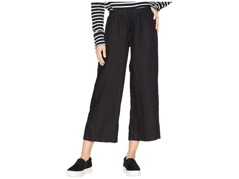 ハードテイル レディース カジュアルパンツ ボトムス High-Rise Pull-on Crop Pants Black