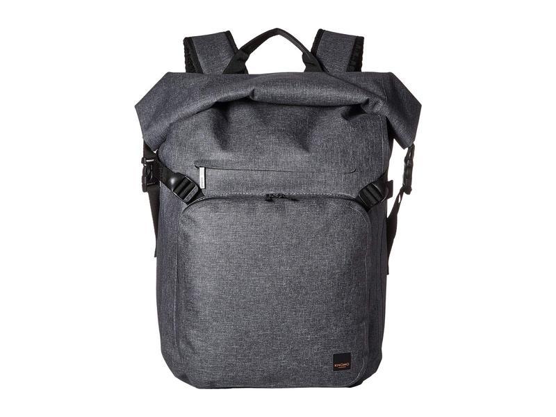 クノモ メンズ バックパック・リュックサック バッグ Thames Hamilton Roll Top Backpack Grey