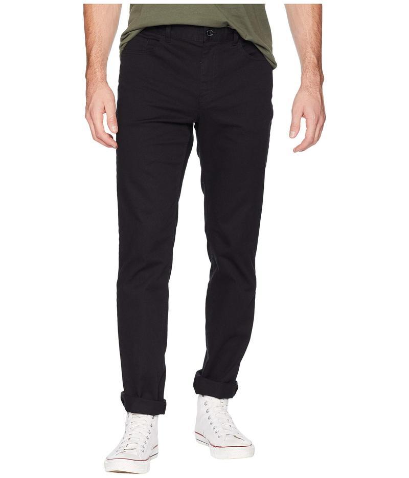 カルバンクライン メンズ カジュアルパンツ ボトムス Stretch Cotton Calvary Twill Pants Black