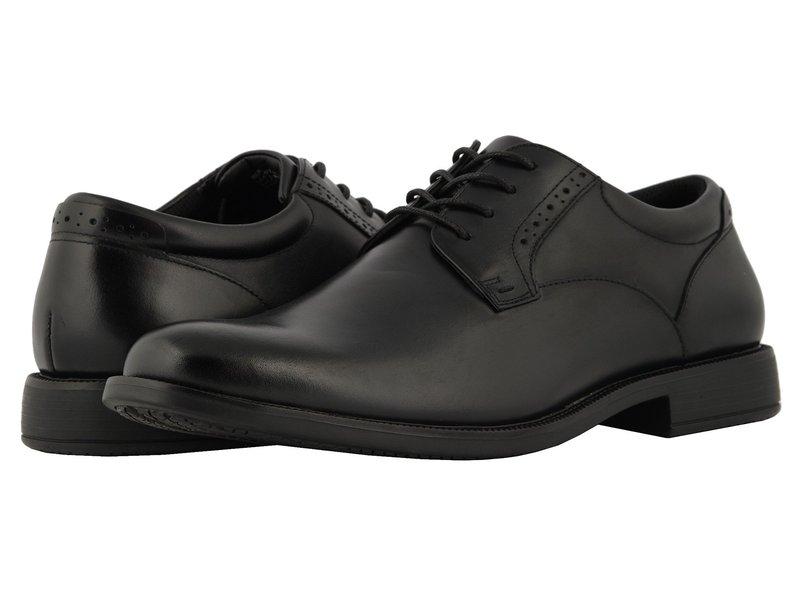 ノンブッシュ メンズ オックスフォード シューズ Nantucket Waterproof Plain Toe Oxford Black WP