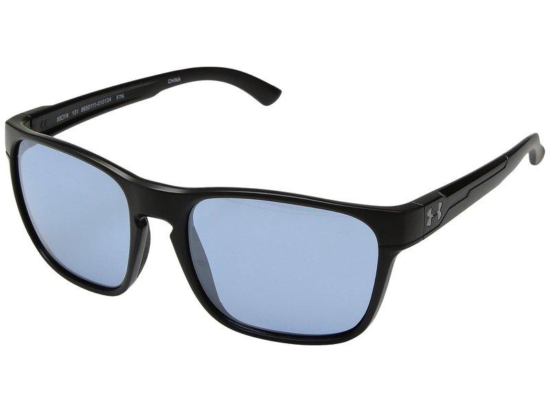 アンダーアーマー メンズ サングラス・アイウェア アクセサリー UA Glimpse Satin Black/Recovery Tuned Lens