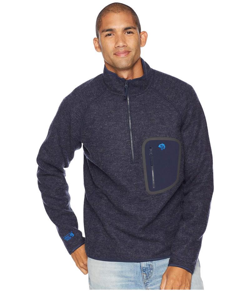 マウンテンハードウェア メンズ ニット・セーター アウター Hatcher 1/2 Zip Pullover Dark Zinc