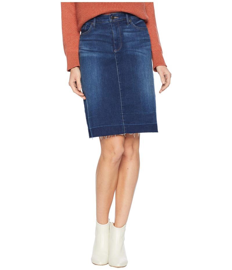 エヌワイディージェイ レディース スカート ボトムス Five-Pocket Skirt w/ Wide Release Hem Muir