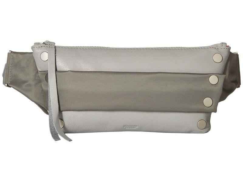 ハミット レディース ボディバッグ・ウエストポーチ バッグ Charles Mist/Pewter Nylon/Grey cotton/Brushed Silver