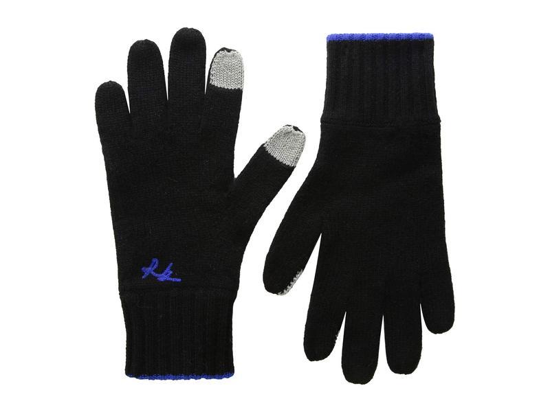 ラグアンドボーン レディース 手袋 アクセサリー Yorke Cashmere Gloves Black