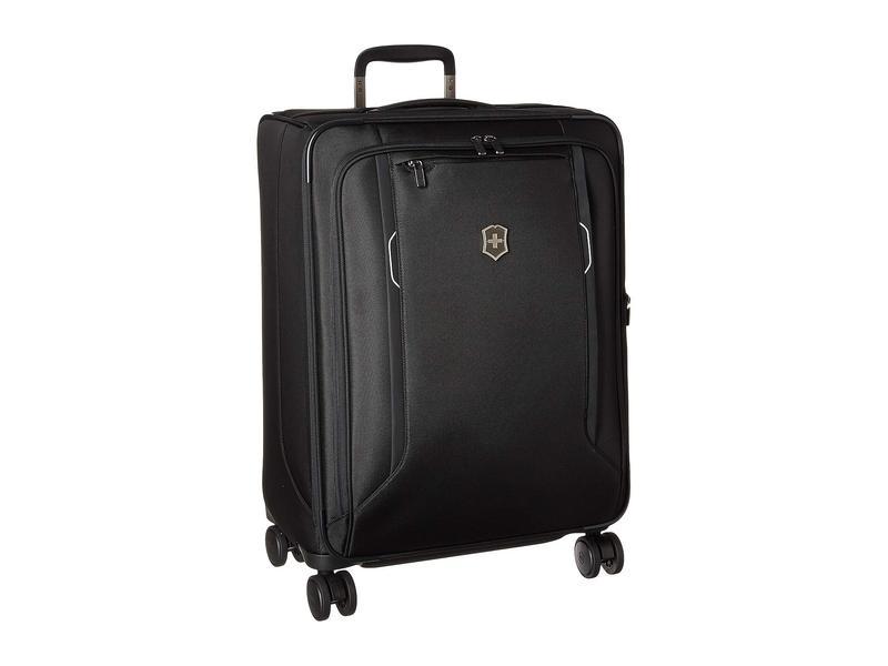 ビクトリノックス メンズ ボストンバッグ バッグ Werks Traveler 6.0 Medium Softside Case Black