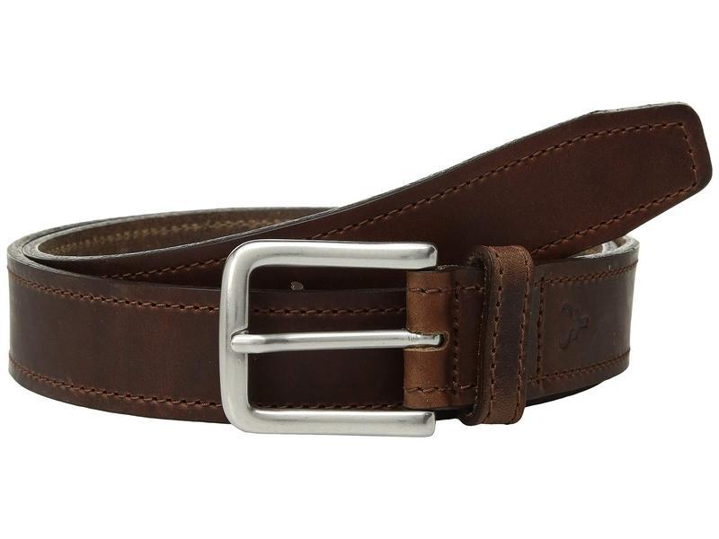 トラスク メンズ ベルト アクセサリー Sutton Belt Brandy American Steer