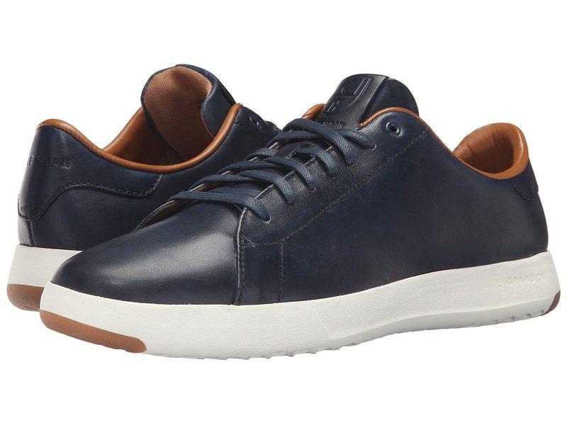 コールハーン メンズ スニーカー シューズ GrandPro Tennis Handstain Sneaker Blazer Blue