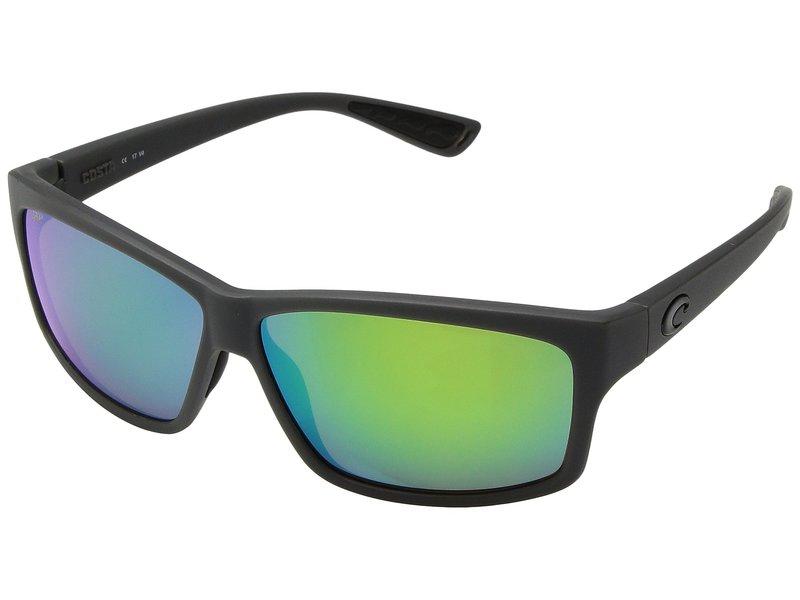 コスタ メンズ サングラス・アイウェア アクセサリー Cut Matte Gray/Green Mirror 580P