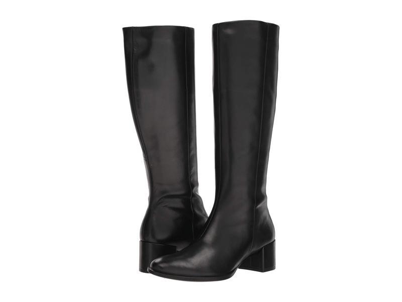 エコー レディース ブーツ・レインブーツ シューズ Shape 35 Block Tall Boot Black Cow Leather