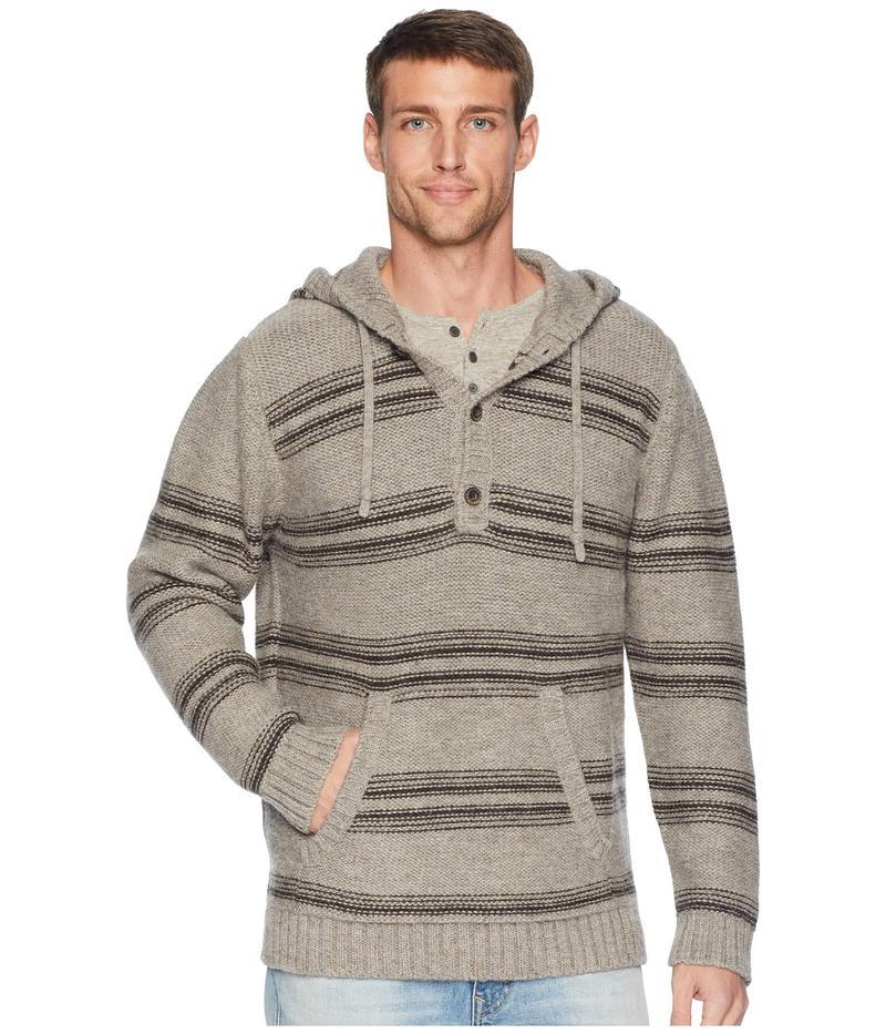 ペンドルトン メンズ ニット・セーター アウター Alpaca Knit Hoodie Sweater Highland Stripe Neutral