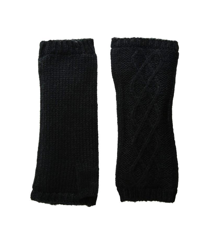 ハットアタック レディース 手袋 アクセサリー Microfur Arm Warmer Black 1
