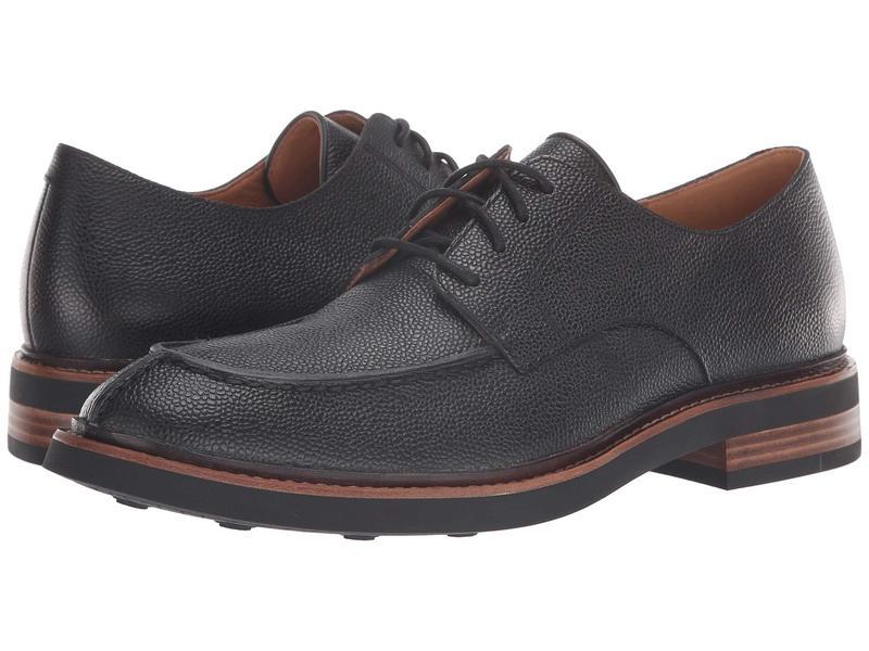 クラークス メンズ オックスフォード シューズ Whitman Lace Black Interest Leather