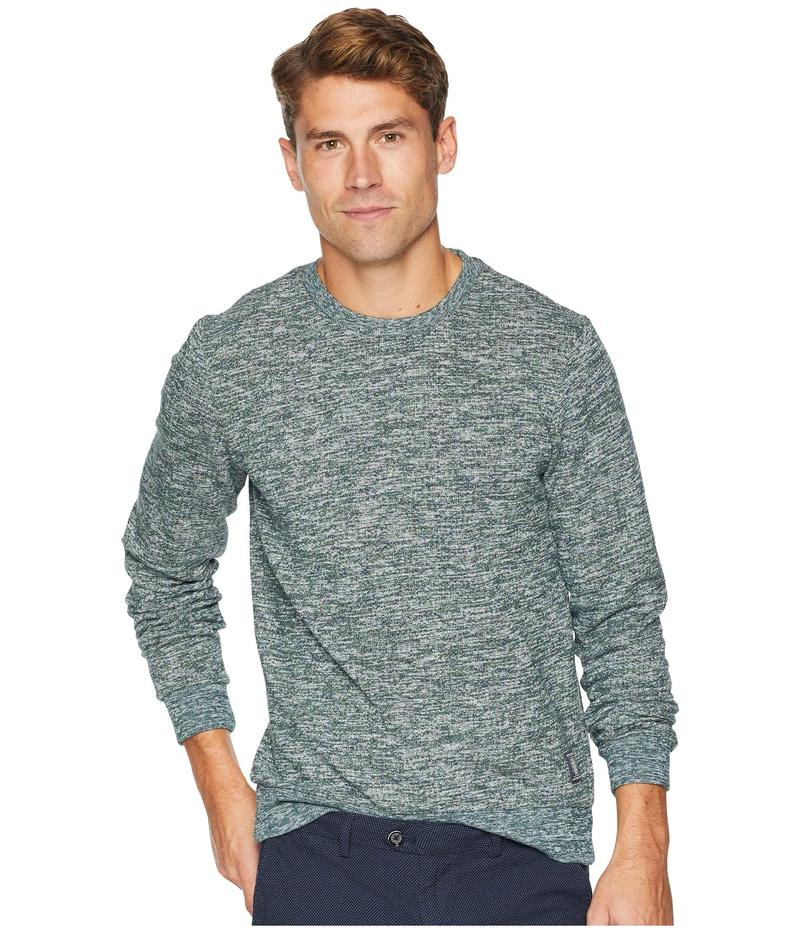 スコッチアンドソーダ メンズ パーカー・スウェット アウター Crew Neck Sweatshirt in Multicolor Melange Felpa Quality Combo D