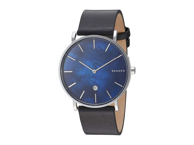 スカーゲン メンズ 腕時計 アクセサリー Hagen Slim - SKW6471 Black