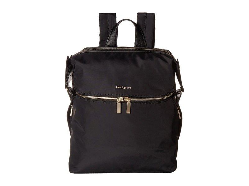 ヘドグレン レディース バックパック・リュックサック バッグ Paragon Medium Backpack Black
