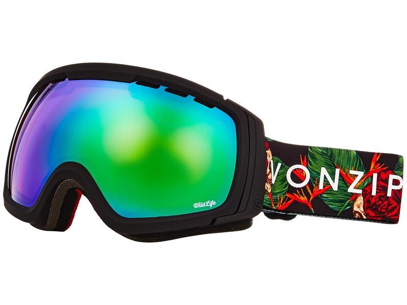 ボンジッパー メンズ サングラス・アイウェア アクセサリー Feenom NLS Goggle Black Satin/Wild Quasar Chrome