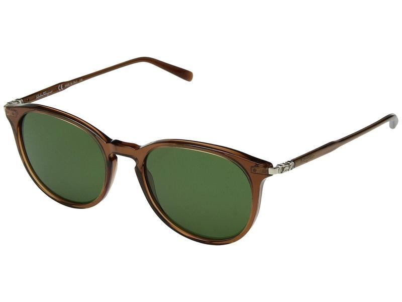 サルヴァトーレ フェラガモ メンズ サングラス・アイウェア アクセサリー SF911SM Brown/Solid Green