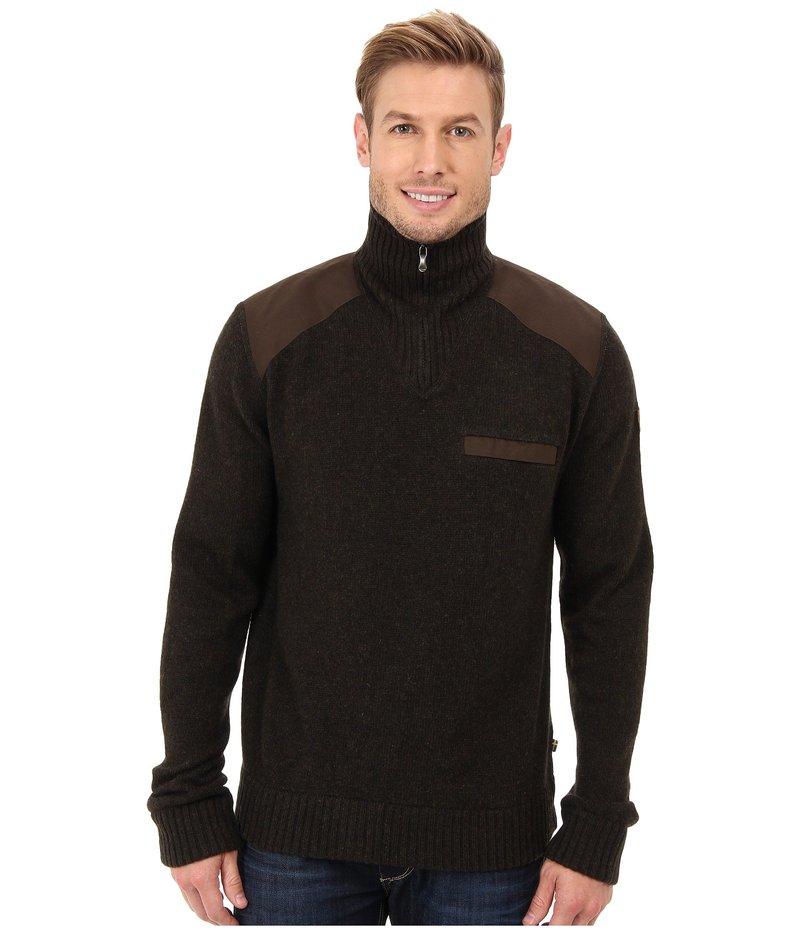 フェールラーベン メンズ ニット・セーター アウター Koster Sweater Dark Olive
