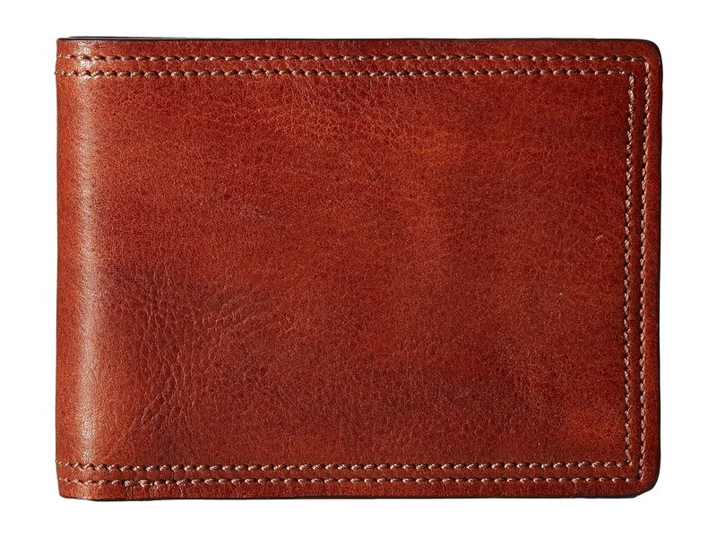 ボスカ メンズ 財布 アクセサリー Dolce Collection - 8-Pocket Deluxe Executive Wallet Amber