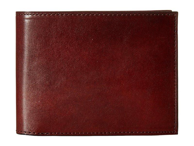ボスカ メンズ 財布 アクセサリー Old Leather Collection - Continental ID Wallet Dark Brown Leather