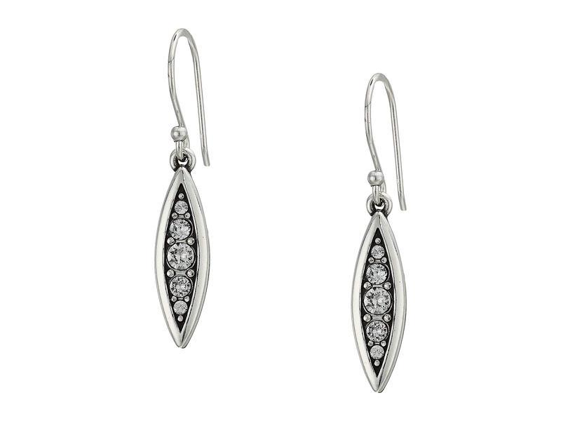 ブライトン レディース ピアス・イヤリング アクセサリー Contempo Ice Reversible Petite French Wire Earrings Crystal