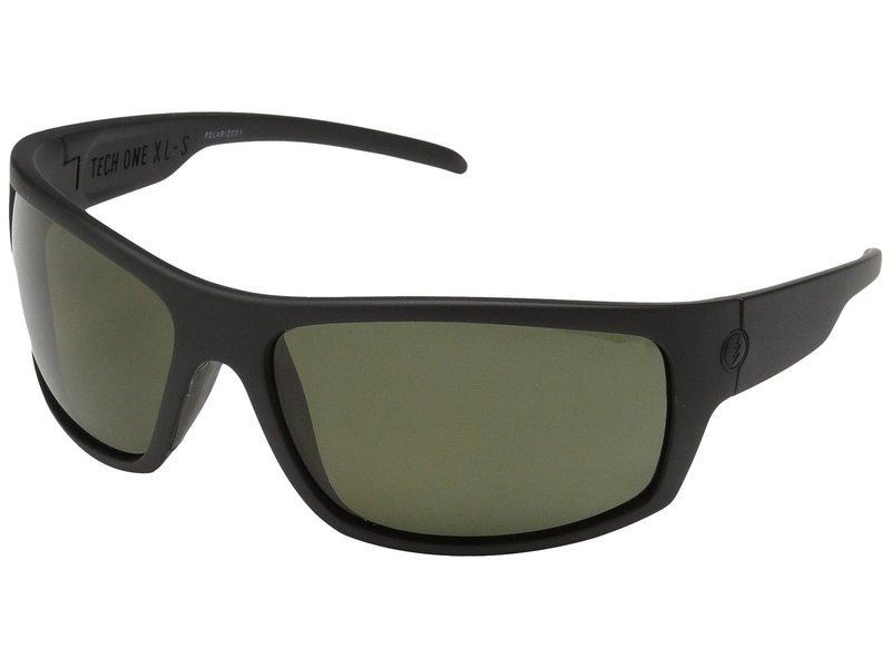 エレクトリックアイウェア メンズ サングラス・アイウェア アクセサリー Tech One XL-S Polarized Matte Black/Ohm Polar Grey