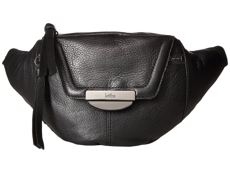 クーバ レディース ボディバッグ・ウエストポーチ バッグ Panama Belt Bag Black