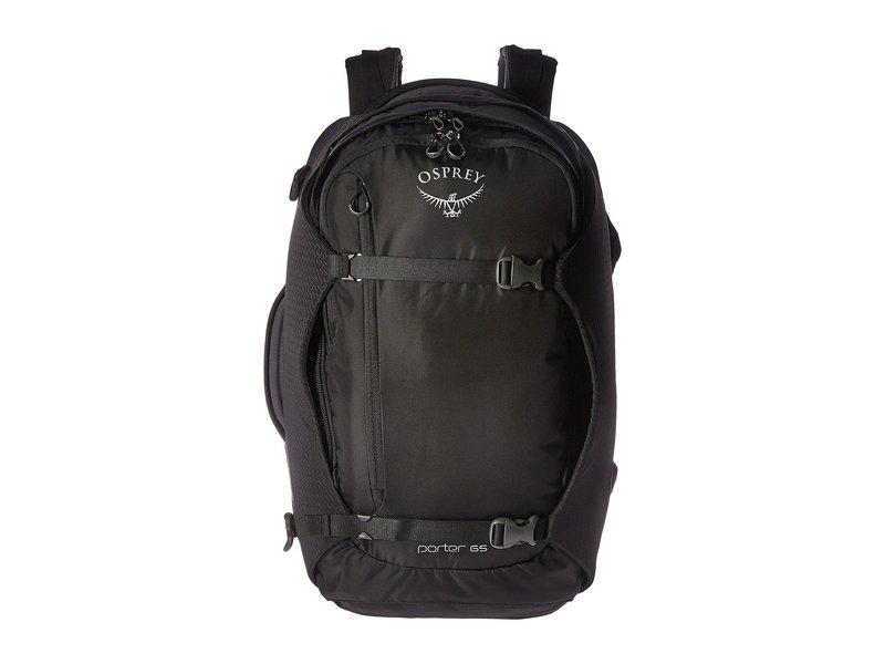 オスプレー メンズ バックパック・リュックサック バッグ Porter 65 Black
