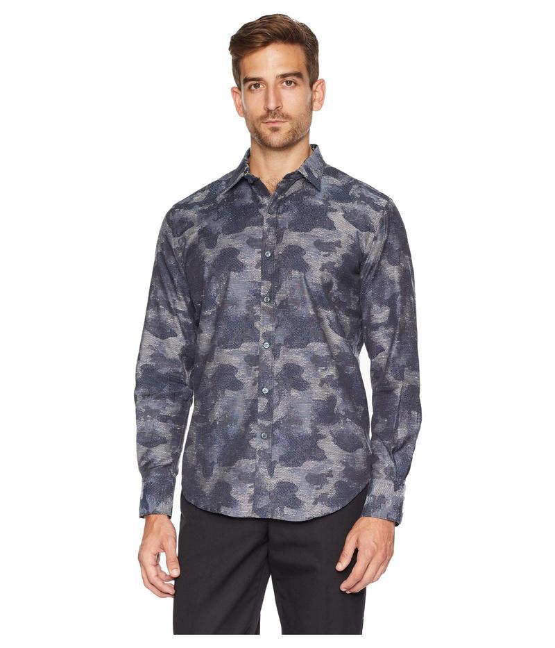 ロバートグラハム メンズ シャツ トップス Walsh Sports Shirt Navy