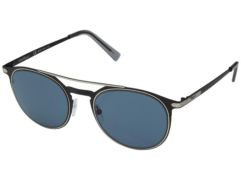 サルヴァトーレ フェラガモ メンズ サングラス・アイウェア アクセサリー SF186SM Matte Black/Solid Green