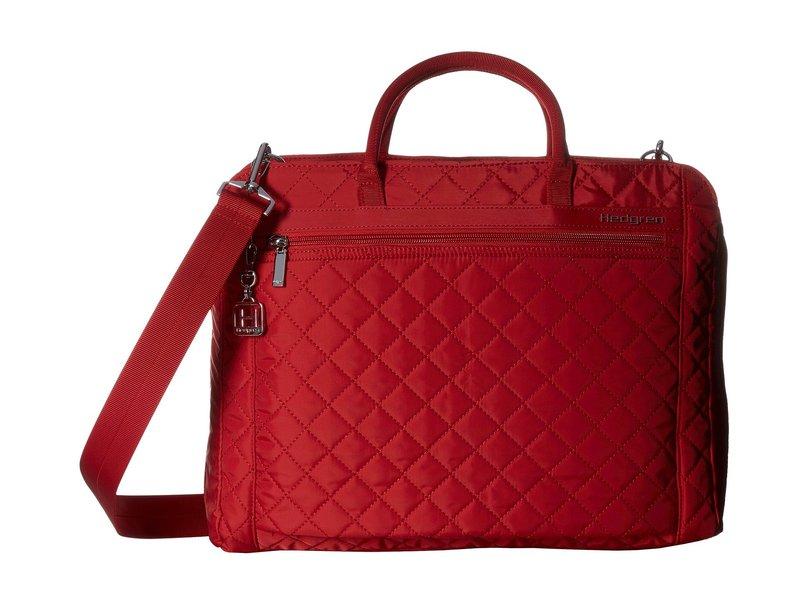 ヘドグレン レディース ハンドバッグ バッグ Diamond Pauline Business Bag Red