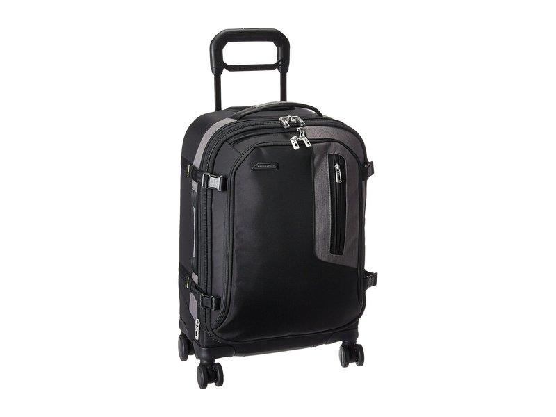 ブリグスアンドライリー メンズ ボストンバッグ バッグ BRX - Explore Domestic Carry-On Spinner Black