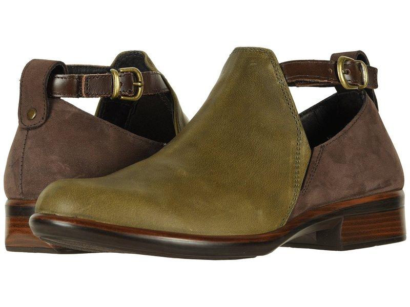 ナオト レディース ブーツ・レインブーツ シューズ Kamsin Vintage Pine Leather/Coffee Bean Nubuck/Pecan Brown Leather