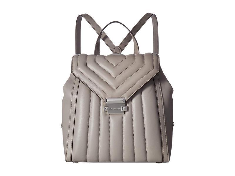 マイケルコース レディース バックパック・リュックサック バッグ Whitney Medium Backpack Pearl Grey