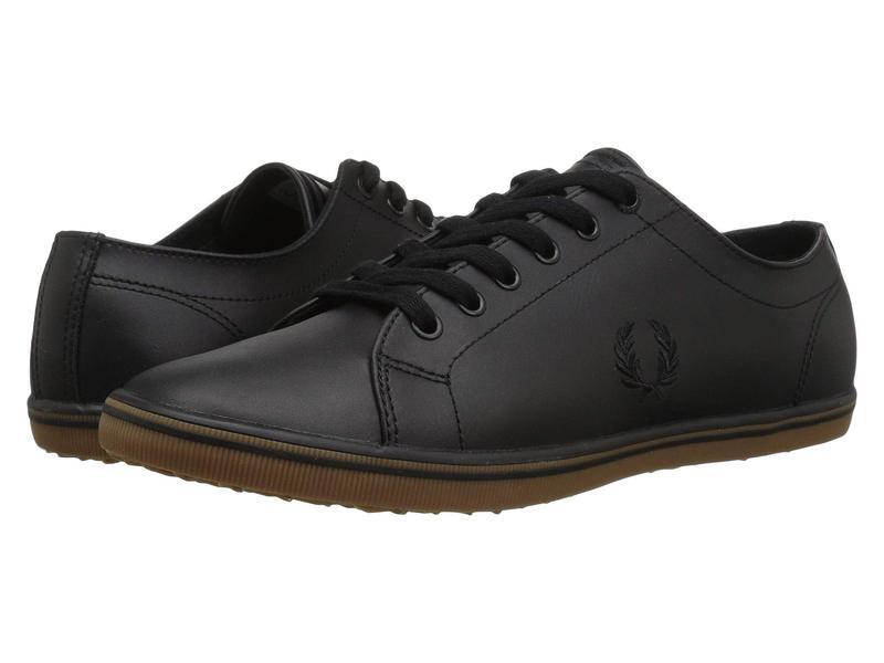 フレッドペリー メンズ スニーカー シューズ Kingston Leather Black 1