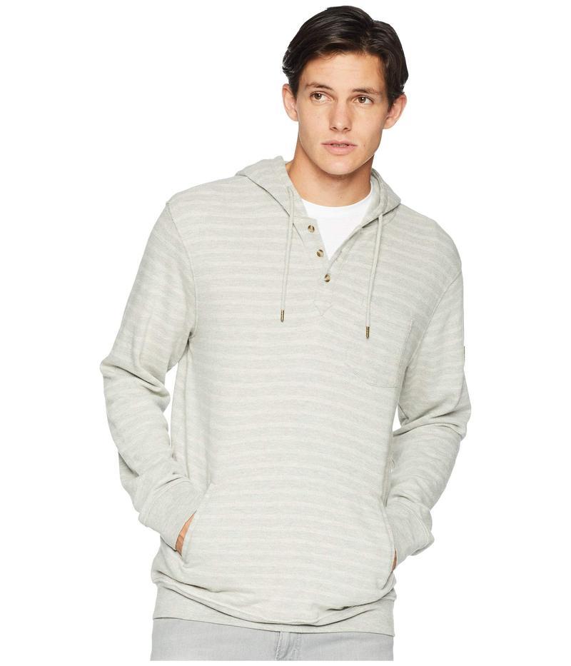 リップカール メンズ パーカー・スウェット アウター Woodward Hooded Fleece Medium Grey