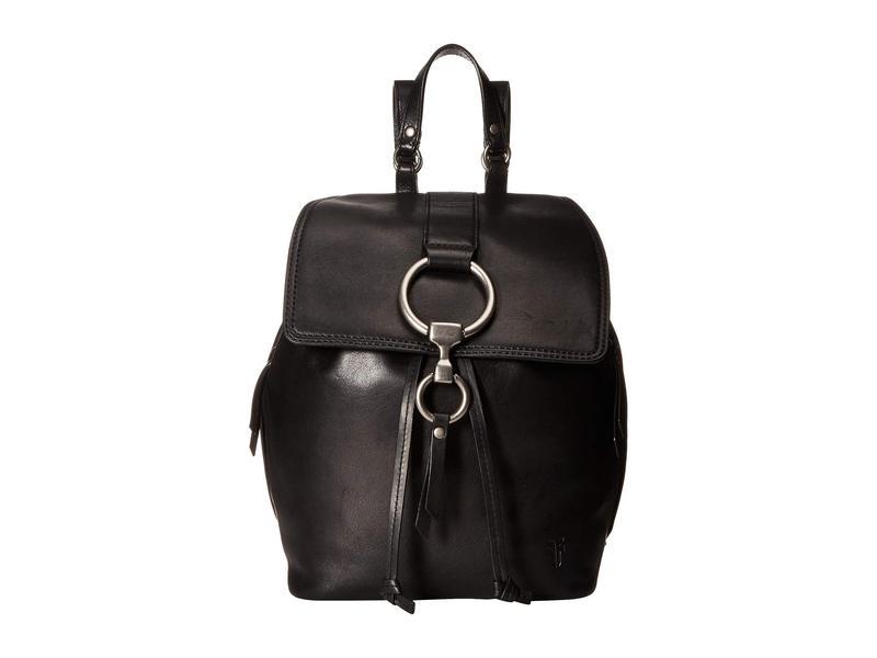 フライ レディース バックパック・リュックサック バッグ Ilana Small Backpack Black Veg Tan Sheep