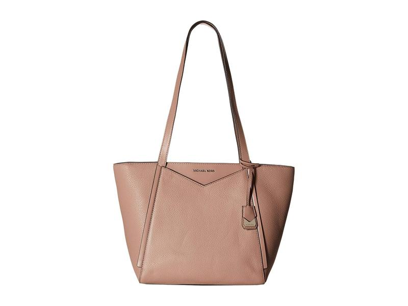 ea906924ac56 マイケルコース レディース ハンドバッグ バッグ Whitney Small Top Zip Tote Fawn