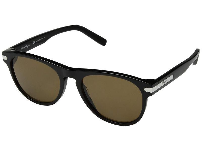 サルヴァトーレ フェラガモ メンズ サングラス・アイウェア アクセサリー SF916SM Black/Solid Brown