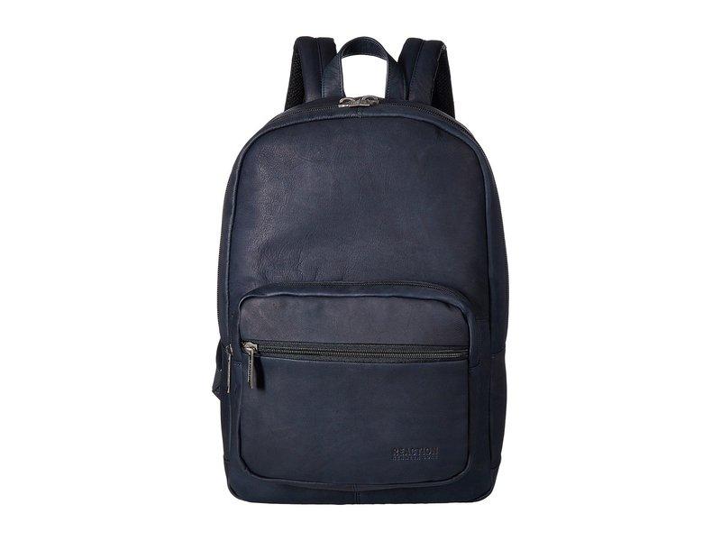 ケネスコール メンズ バックパック・リュックサック バッグ Colombian Leather Computer Backpack Navy