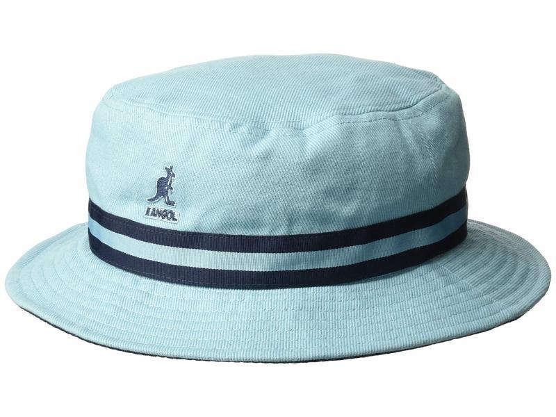 カンゴール メンズ 帽子 アクセサリー Stripe Lahinch Light Blue