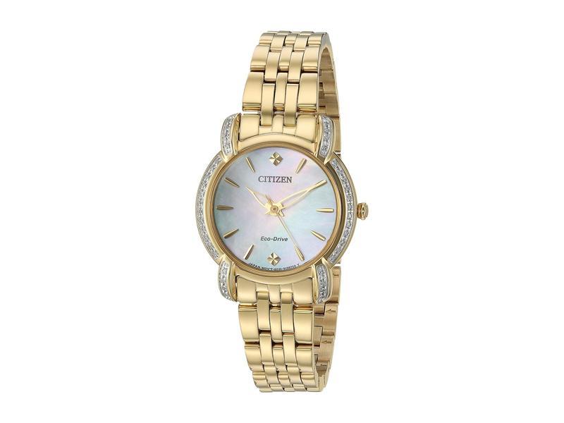 シチズンウォッチ レディース 腕時計 アクセサリー EM0692-54D Jolie Gold Tone