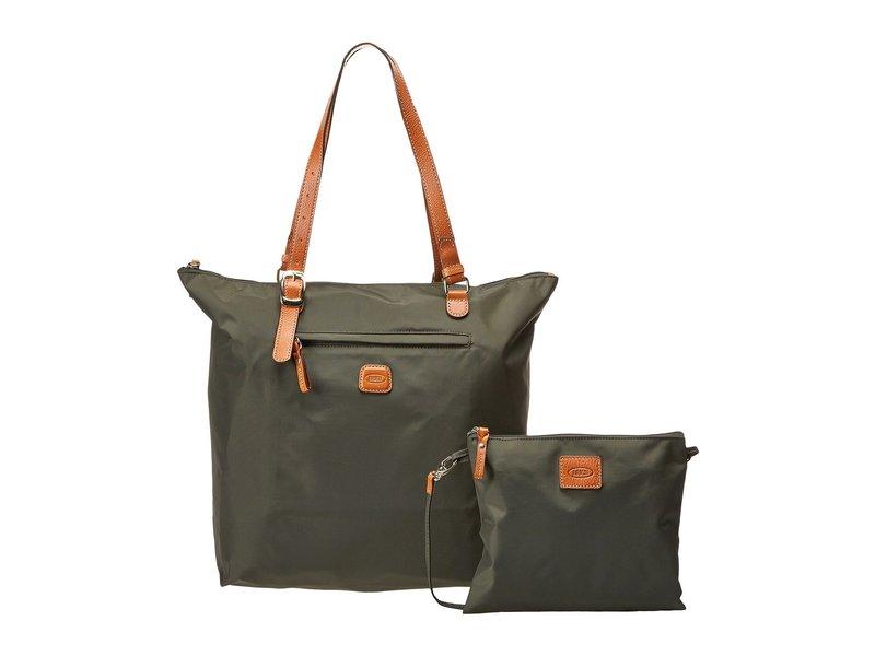 ブリックスミラノ レディース ボストンバッグ バッグ X-Bag Sportina Grande Shopper Olive
