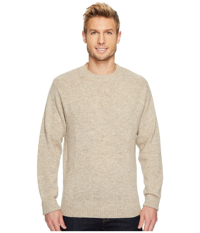 ペンドルトン メンズ ニット・セーター アウター Shetland Crew Sweater Oat Heather
