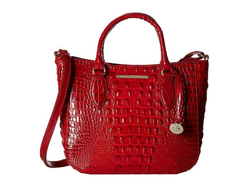 ブランミン レディース ハンドバッグ バッグ Melbourne Small Lena Bag Scarlet