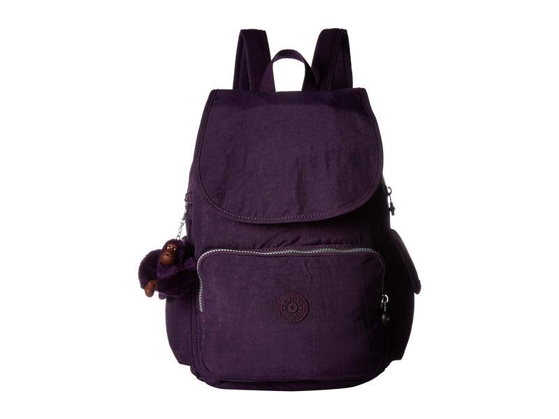 キプリング レディース バックパック・リュックサック バッグ Citypack Backpack Deep Purple