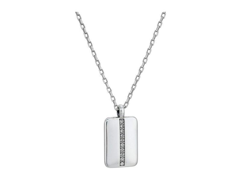 ブライトン レディース ネックレス・チョーカー・ペンダントトップ アクセサリー Contempo Ice Reversible Tile Necklace Crystal